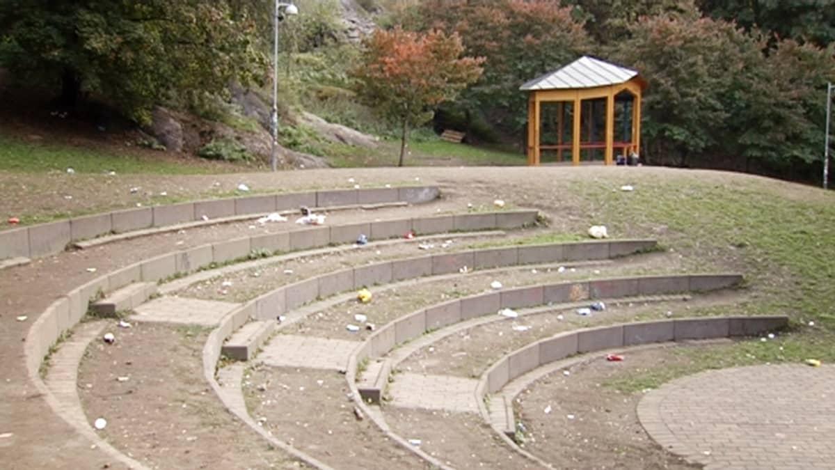 Helsingin Alppipuisto.