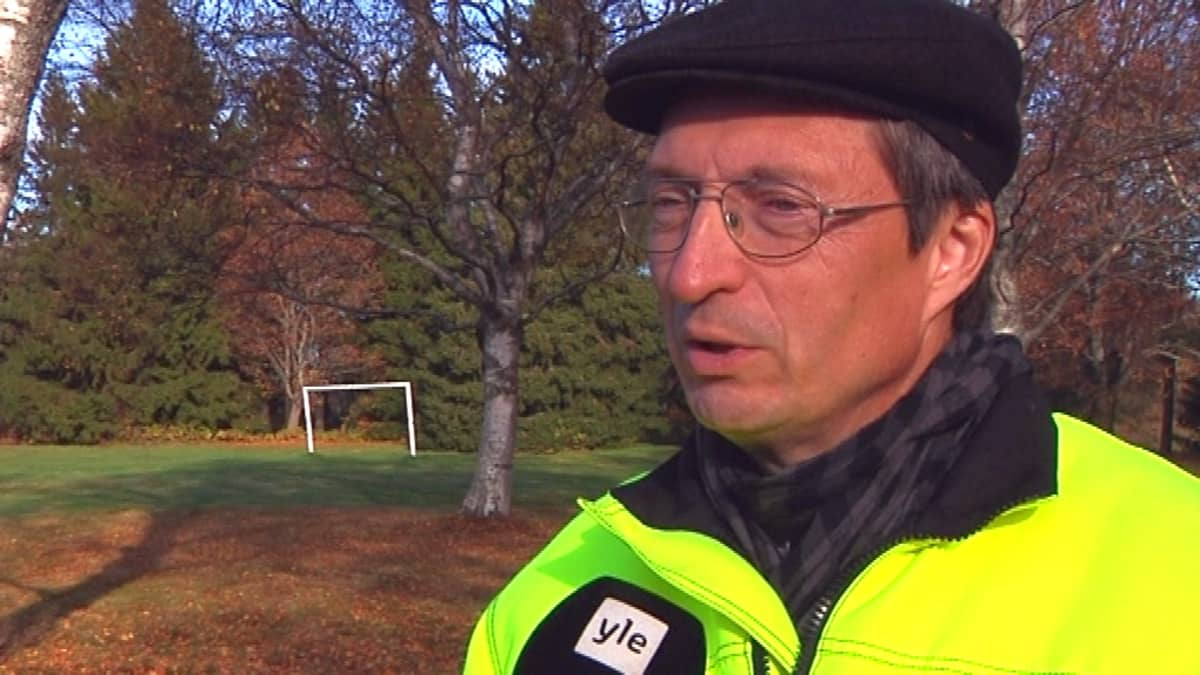 Tulvasuojelupäällikkö Pekka Vuola