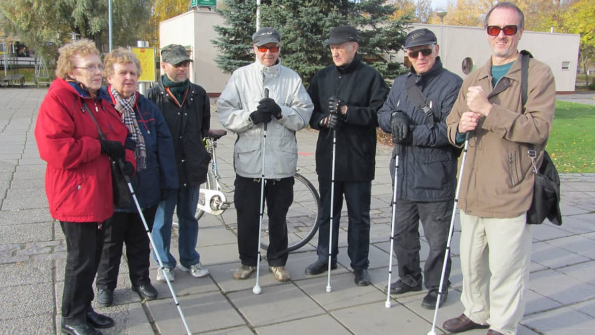 Maija Pajala, Ritva Marttinen, Ivar Sundqvist, Mauri Mäkelä, Risto Viiperi, Osmo Leppänen ja Anders Nyberg.