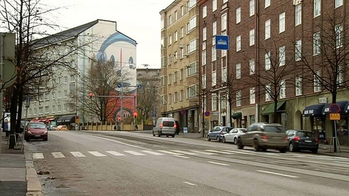Helsingin Runeberginkatu.