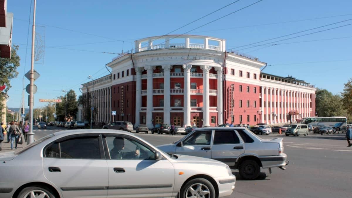 Pohjola-hotelli Petroskoissa