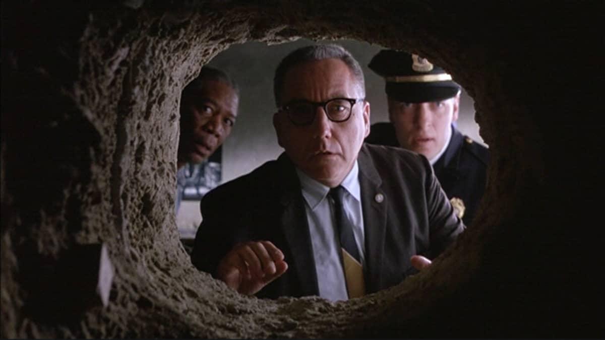 Kuvakaappaus The Shawshank Redemption -elokuvasta.