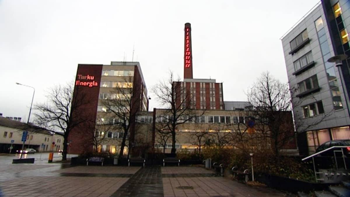 Turku Energian toimitilat.