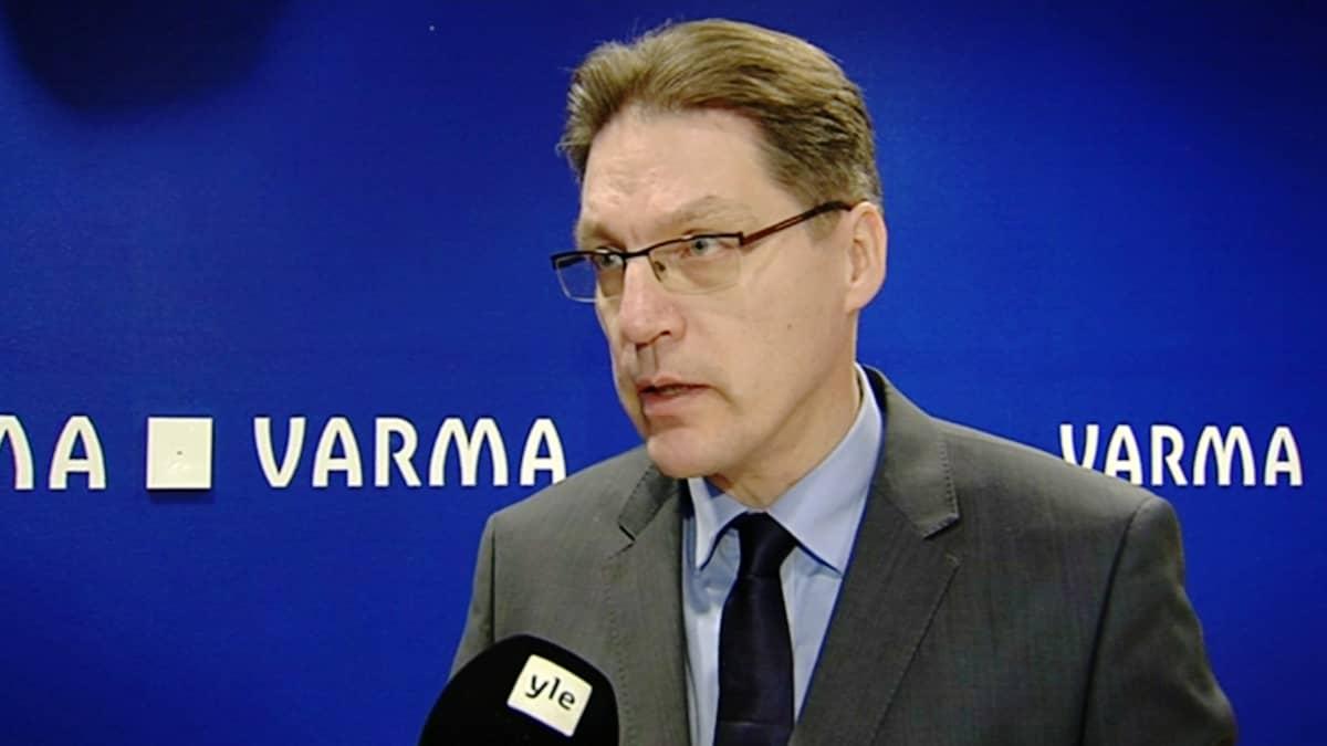 Eläkeyhtiö Varman toimitusjohtaja Risto Murto.