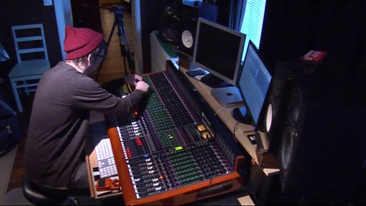 Äänitysstudio