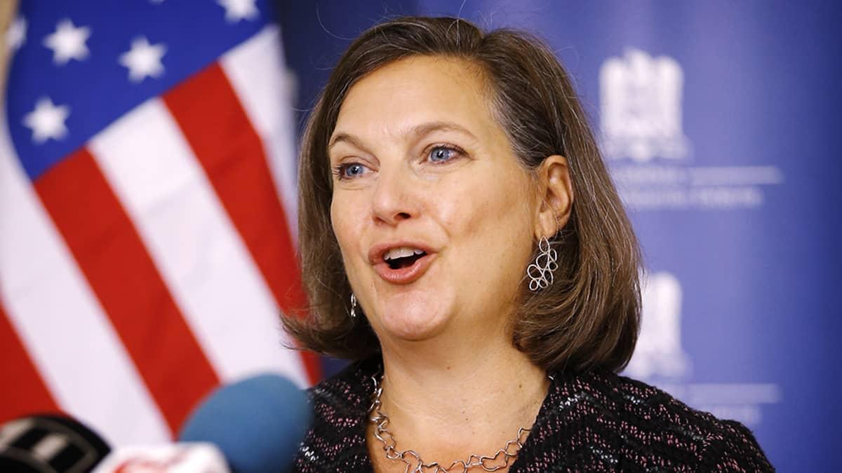 Yhdysvaltain apulaisulkoministeri Victoria Nuland.