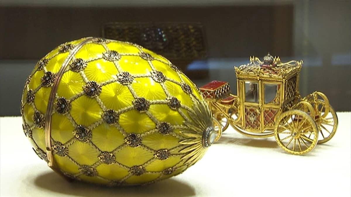 Fabergé museo Pietari kultaseppä Venäjä