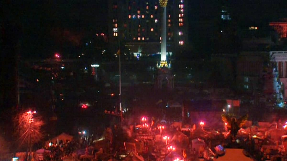 Ukraina Kiev mielenosoitukset