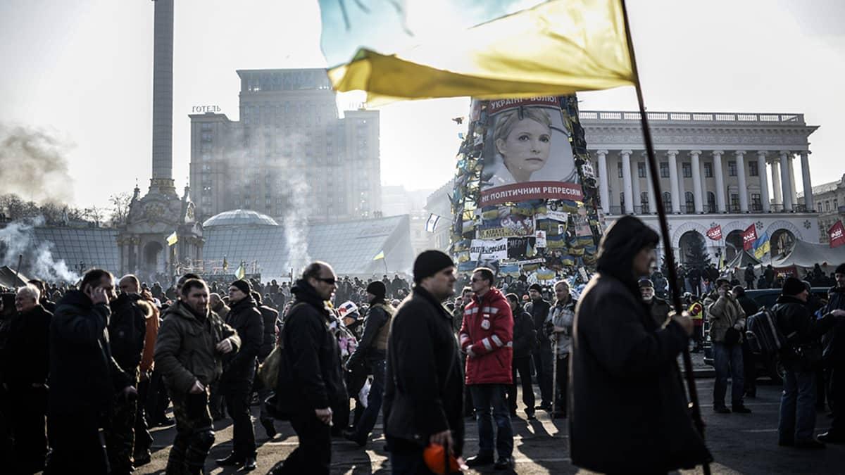 Ukraina Kiova mielenosoitukset