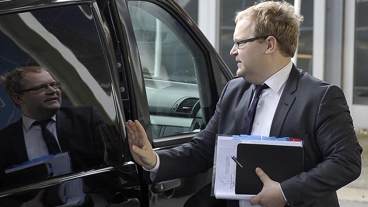 Europarlamentaarikko ja entinen ulkoministeri Urmas Paet.