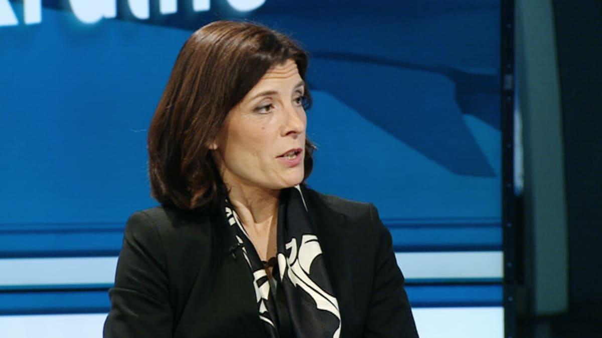 Karin Enström, Ruotsin puolustusministeri, moderaterna (kokoomus).