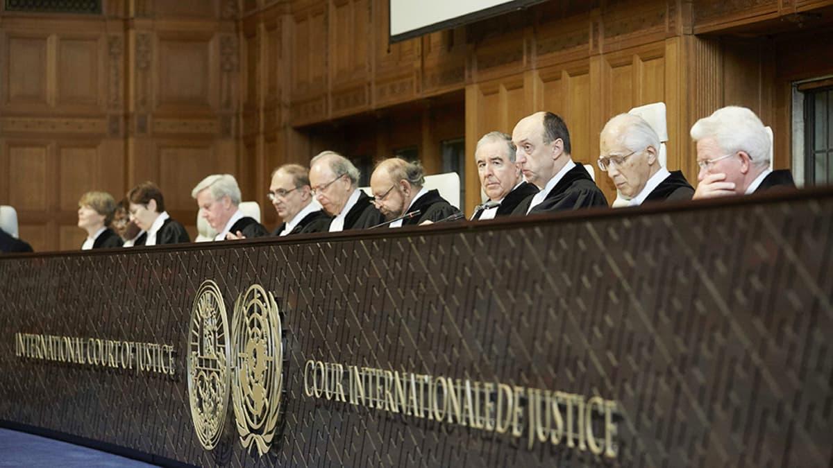 Haagin kansainvälinen tuomioistuin.