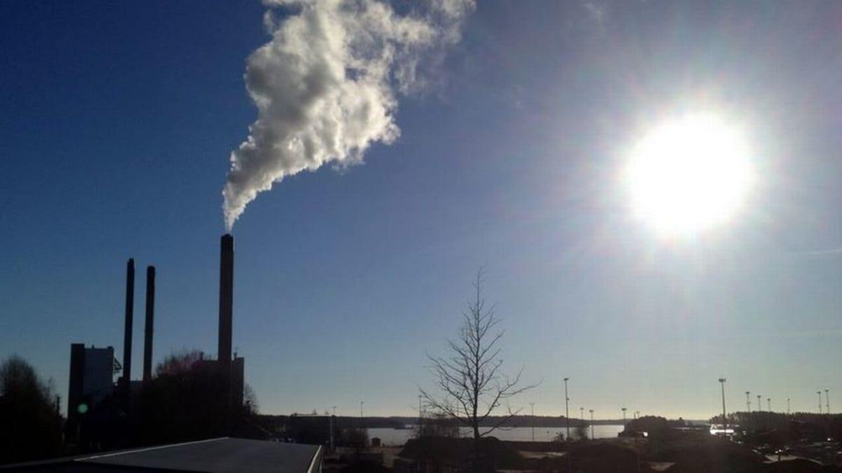 Kuopion Energian voimalaitos Kuopion Haapaniemellä