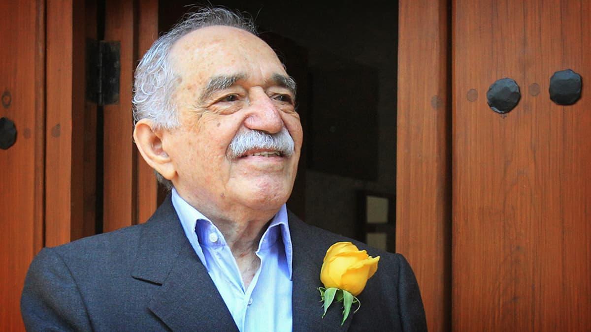 Gabriel Garcia Márquez kotiovellaan.