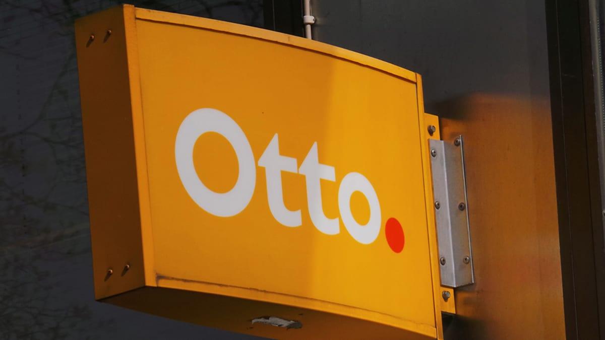 Otto-automaatti kyltti.