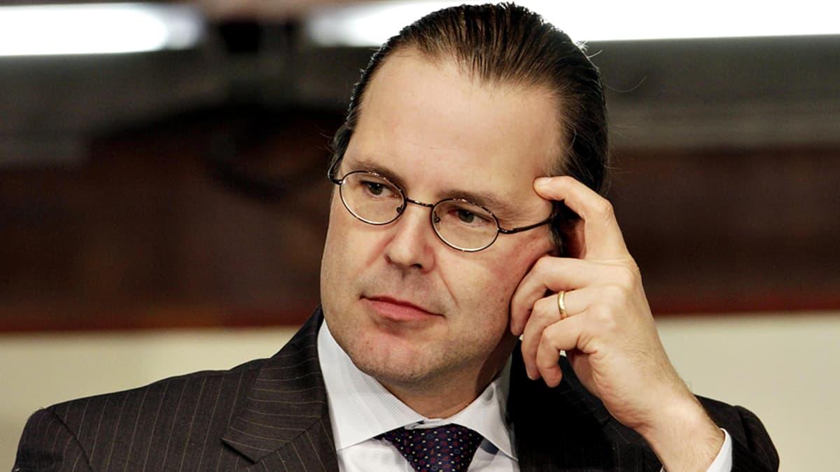 Ruotsin entinen valtiovarainministeri Anders Borg
