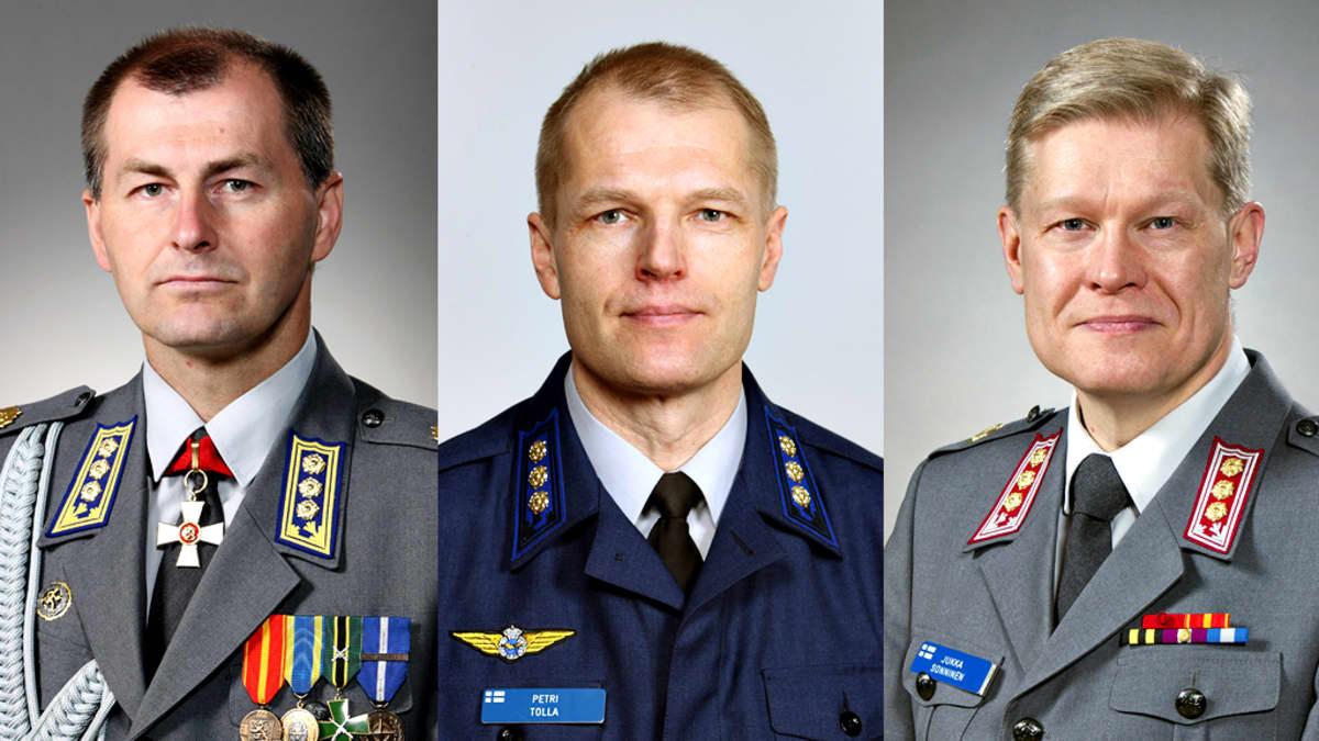 Jari Kallio, Petri Tolla  ja Jukka Sonninen.