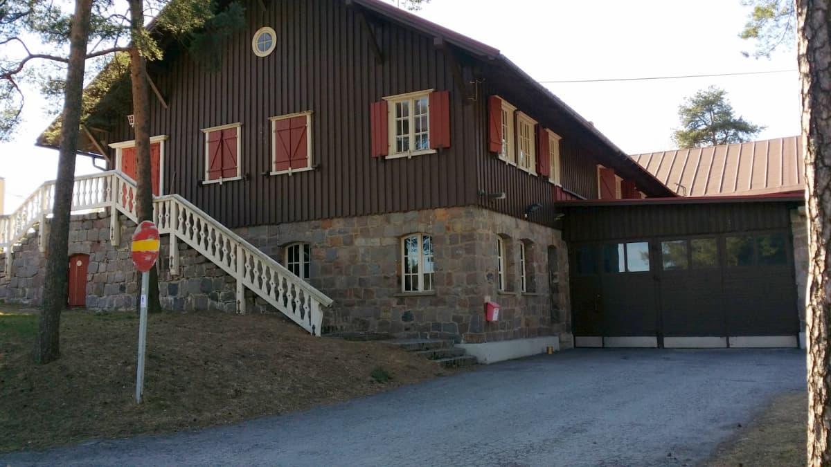 Alppimaja Oulun Alppilassa