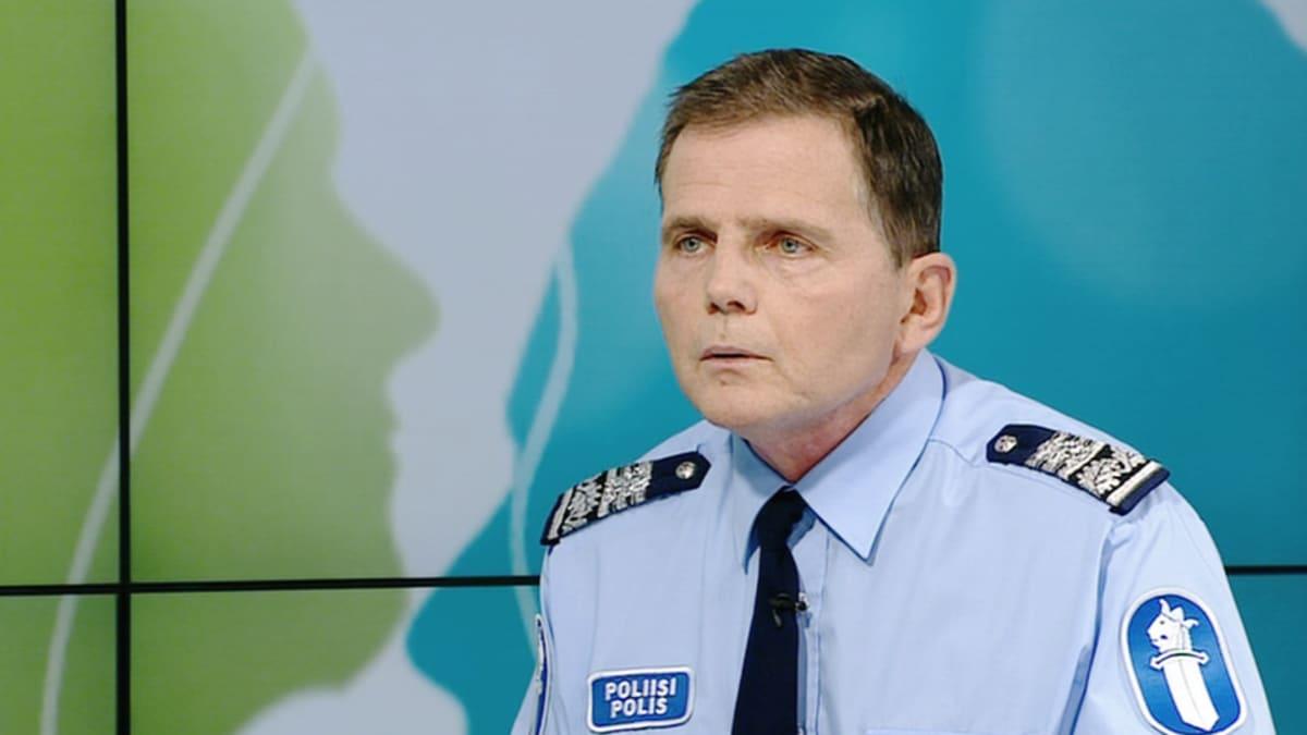 Helsingin poliisipäällikkö Lasse Aapio.