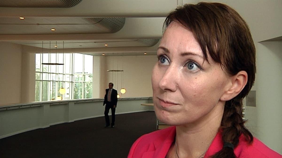 Kansanedustaja Hanna Mäntylä (ps.)