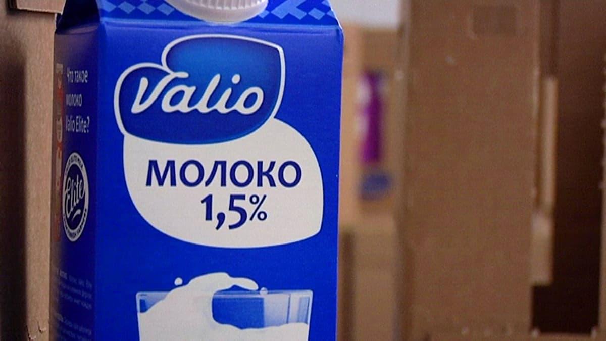Venäjänkielinen Valion maito