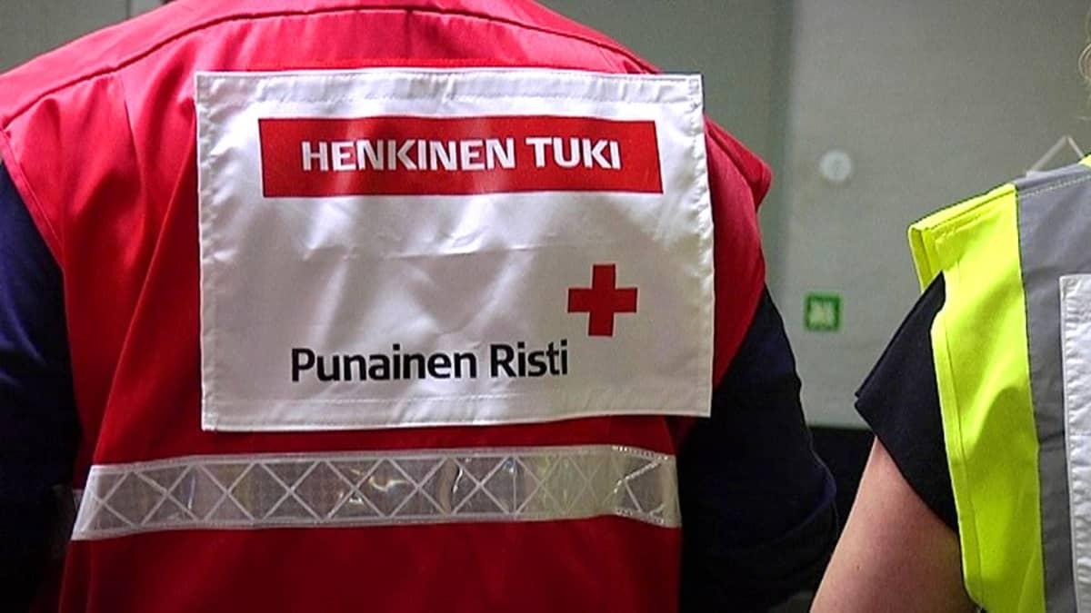 Kriisiharjoitus Lappeenrannassa.
