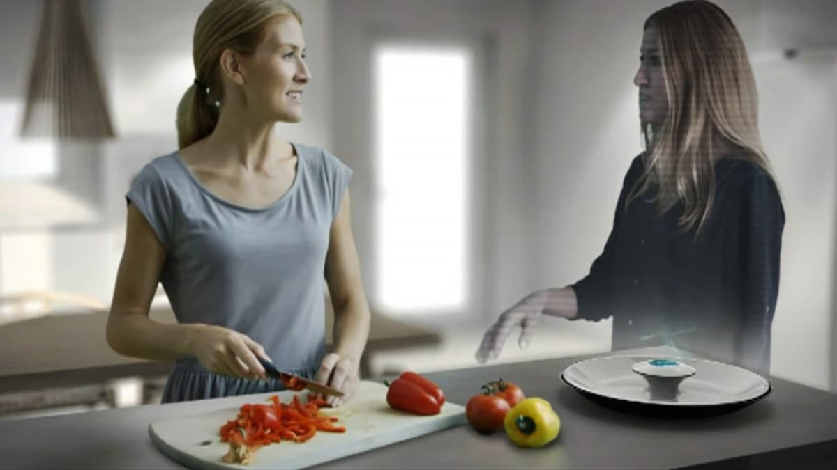 Interaktiivinen hologrammi Global Chef
