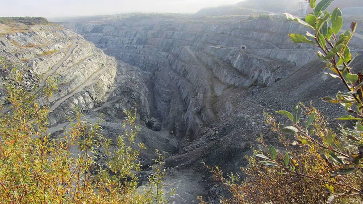 Kemin kaivoksen avolouhos oli käytössä vuoteen 2005 asti.