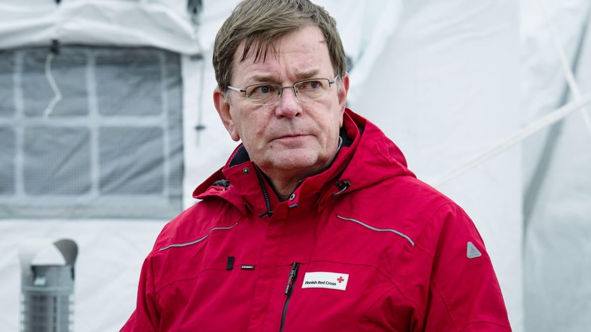 SPR:n kansainvälisen toiminnan päällikkö Kalle Löövi.