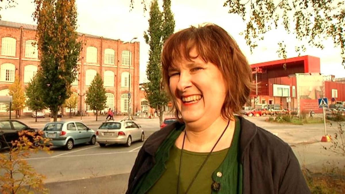 Kultuuriperinnön tutkija Anna Sivula.