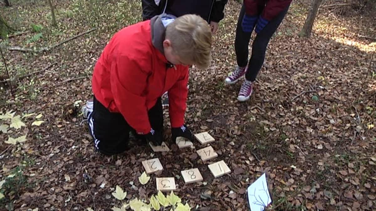 Kahdeksan laattaa on saatava numerojärjestykseen liikuttamalla yhtä kerrallaan.