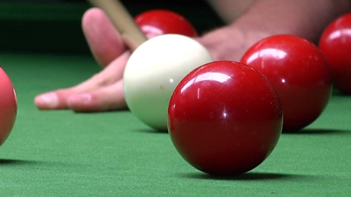 Snooker palloja biljardi pöytä