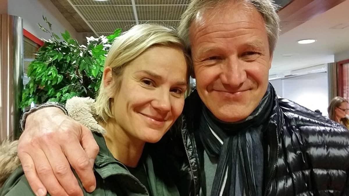 Laura Malmivaara ja Taneli Mäkelä.