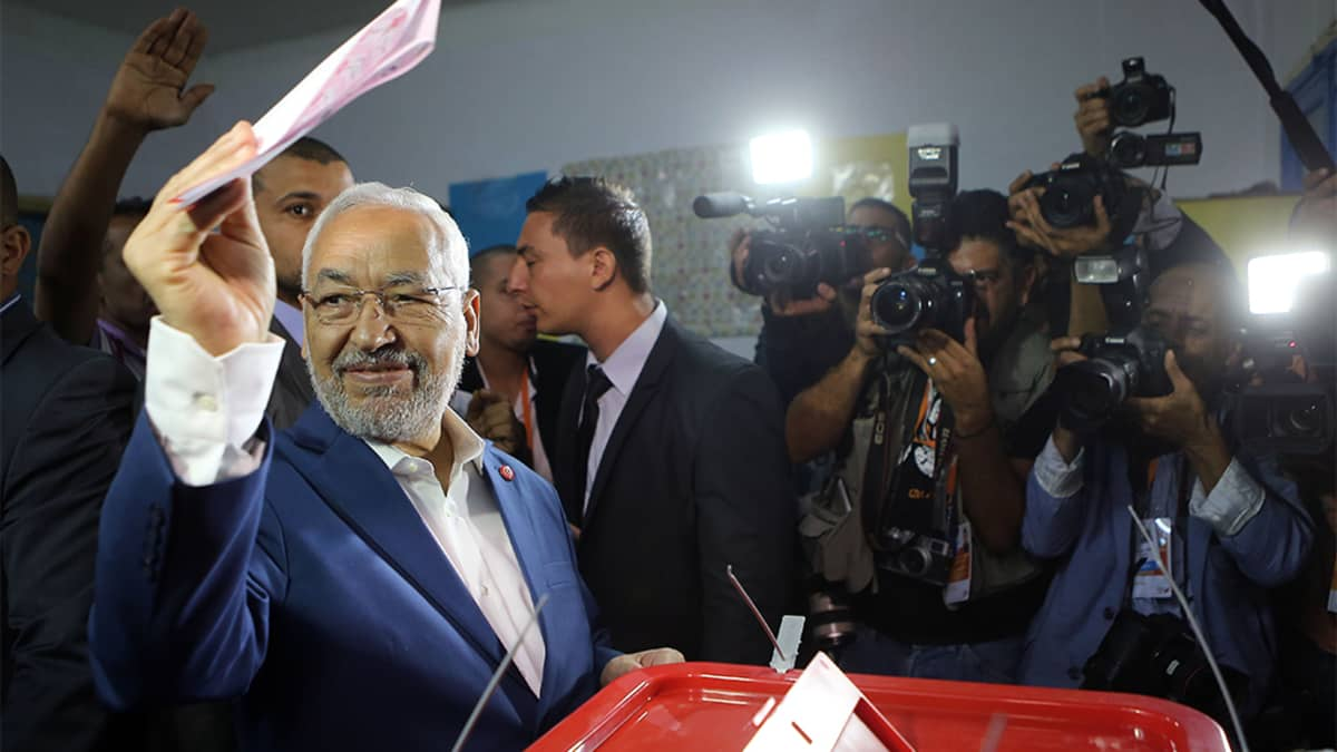 Rachid al-Ghannouchi.