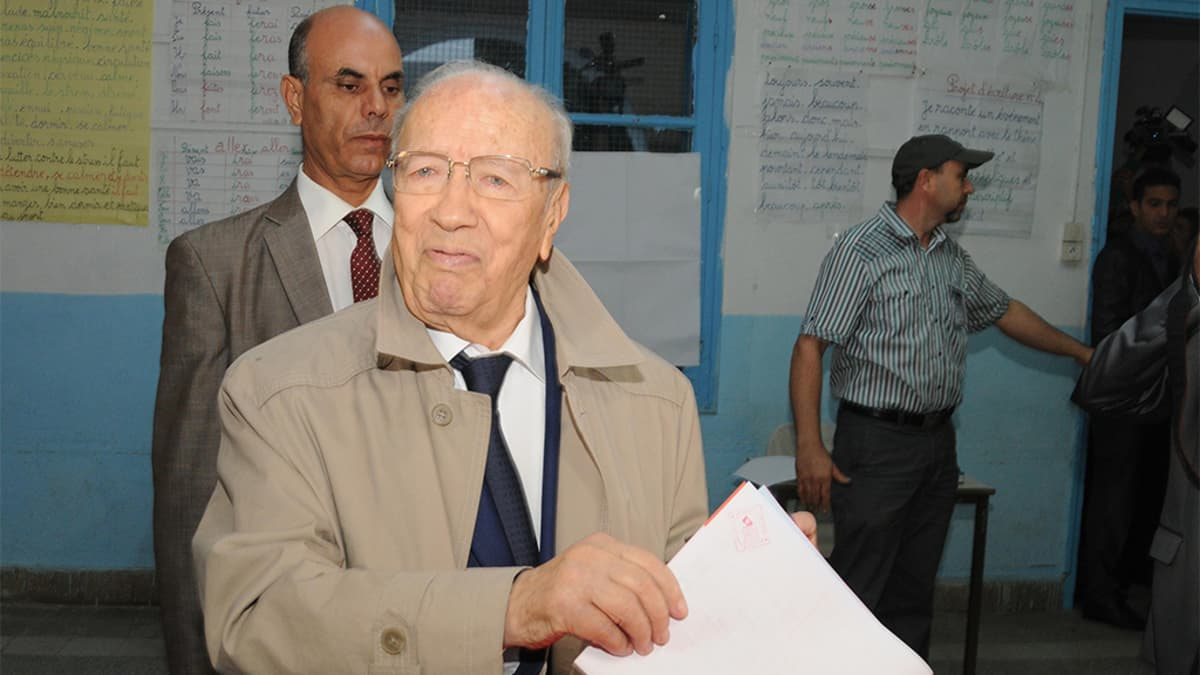Beji Caid Essebsi.