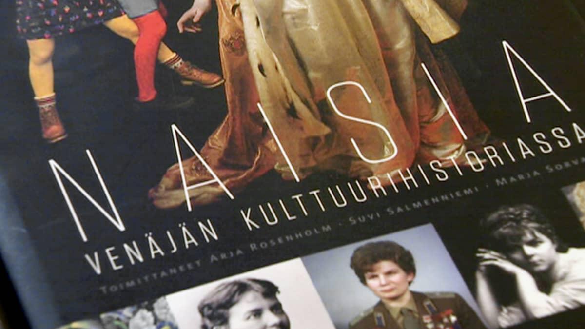 Naisia Venäjän kulttuurihistoriassa kirjab kansi.