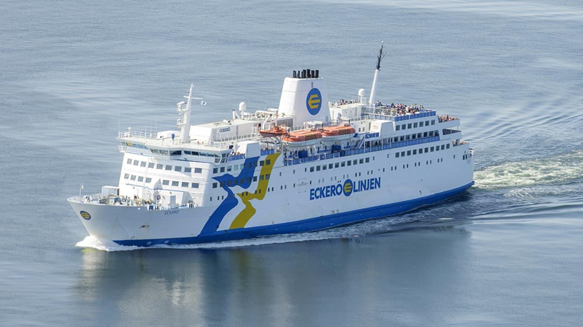 Matkustajalaiva  M/S Eckerö.