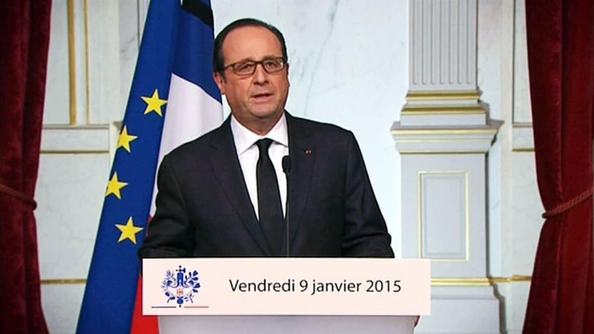 Ranskan presidentti François Hollande