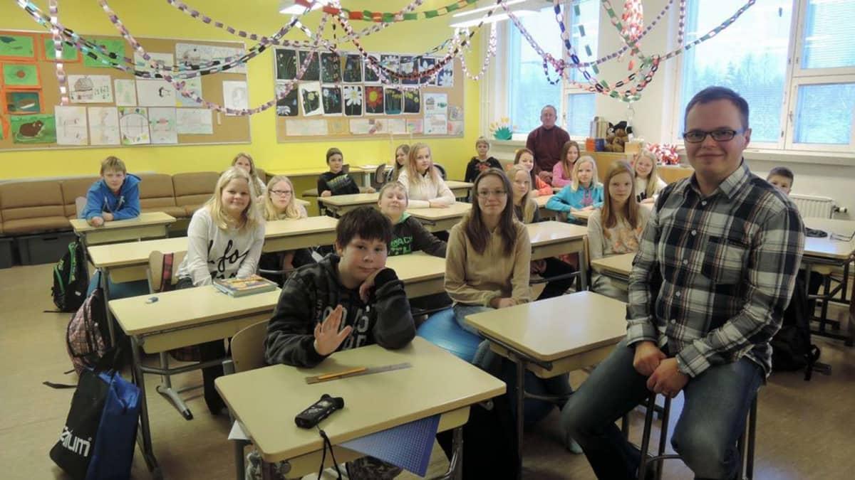 Särkelän koulu koulunjohtaja Ilpo Tervonen.