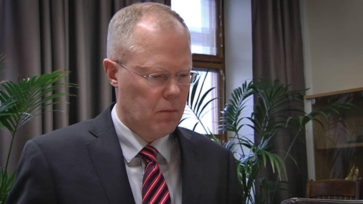 Turvallisuuskomitean pääsihteeri Vesa Virtanen.