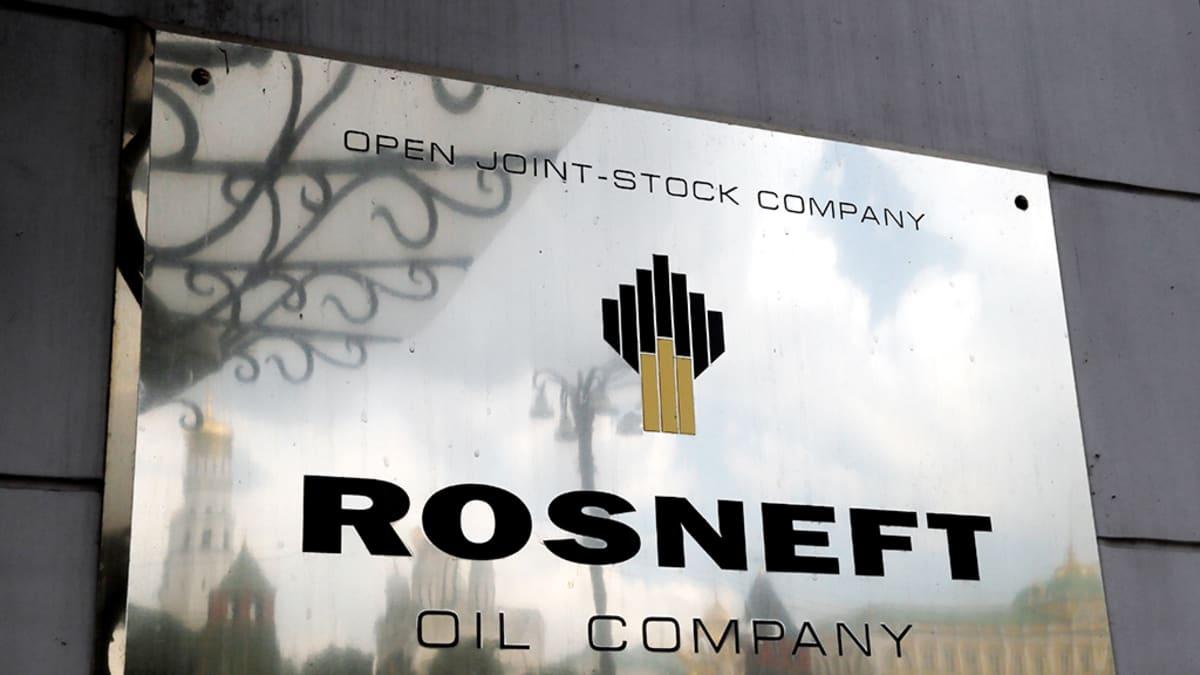 Öljy-yhtiö Rosdneftin pääkonttori Moskovassa.