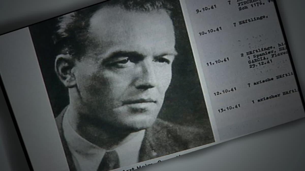 Kuoleman tohtori Aribert Heim.