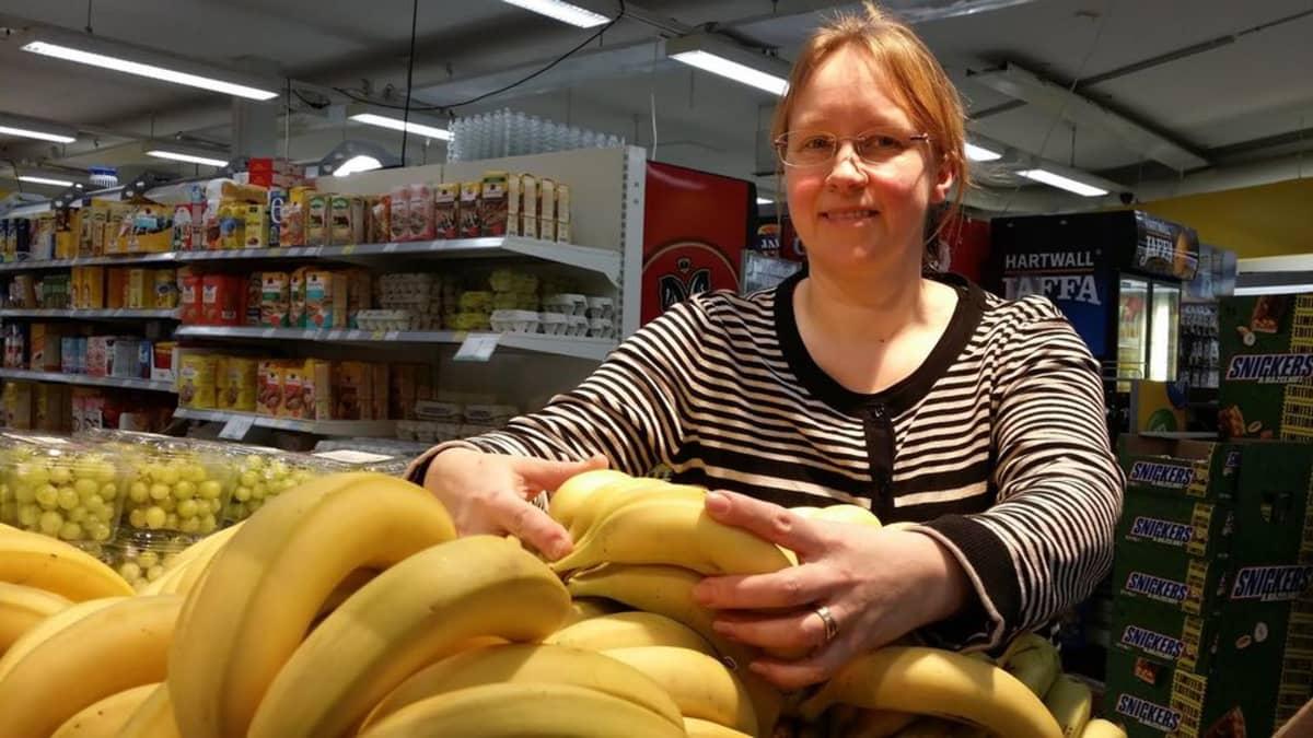 Kauppias Mia Karhunen odottaa nettisukupolven räjäyttävän ruoan verkkokaupan.