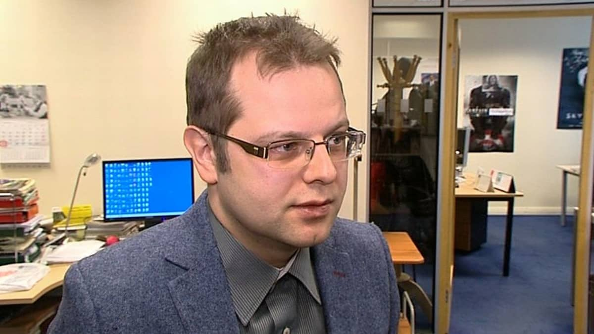 Latvian luetuimman venäjänkielisen netin uutissivuston Vestin päätoimittaja Vladislavs Užulis.