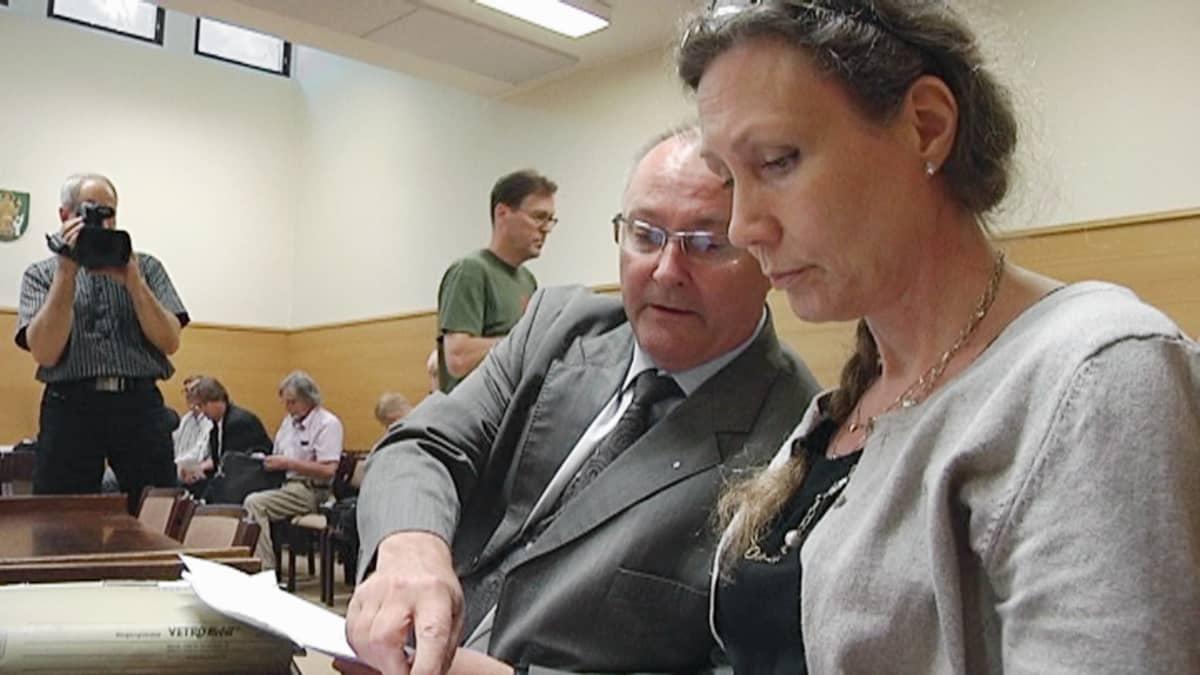 Anneli Auer ja Juha Manner