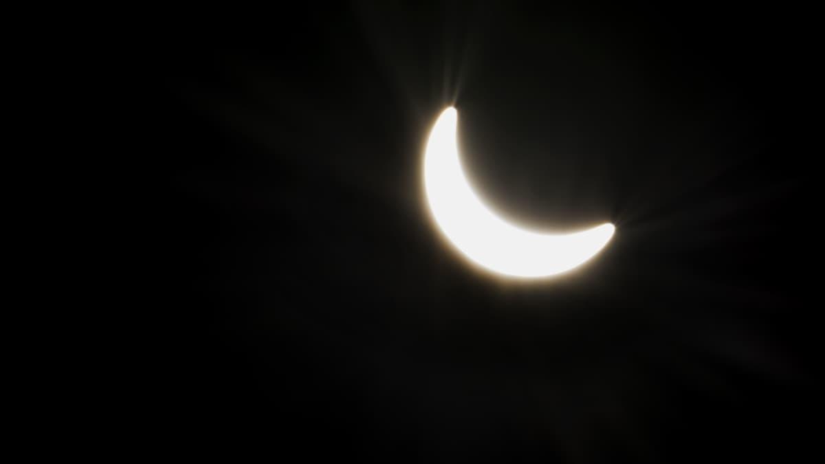 Auringonpimennys oli Vaasan seudulla 87-prosenttinen.