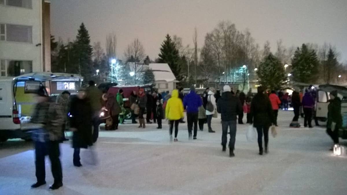 REKO-ruokapiiri Kokkolassa.