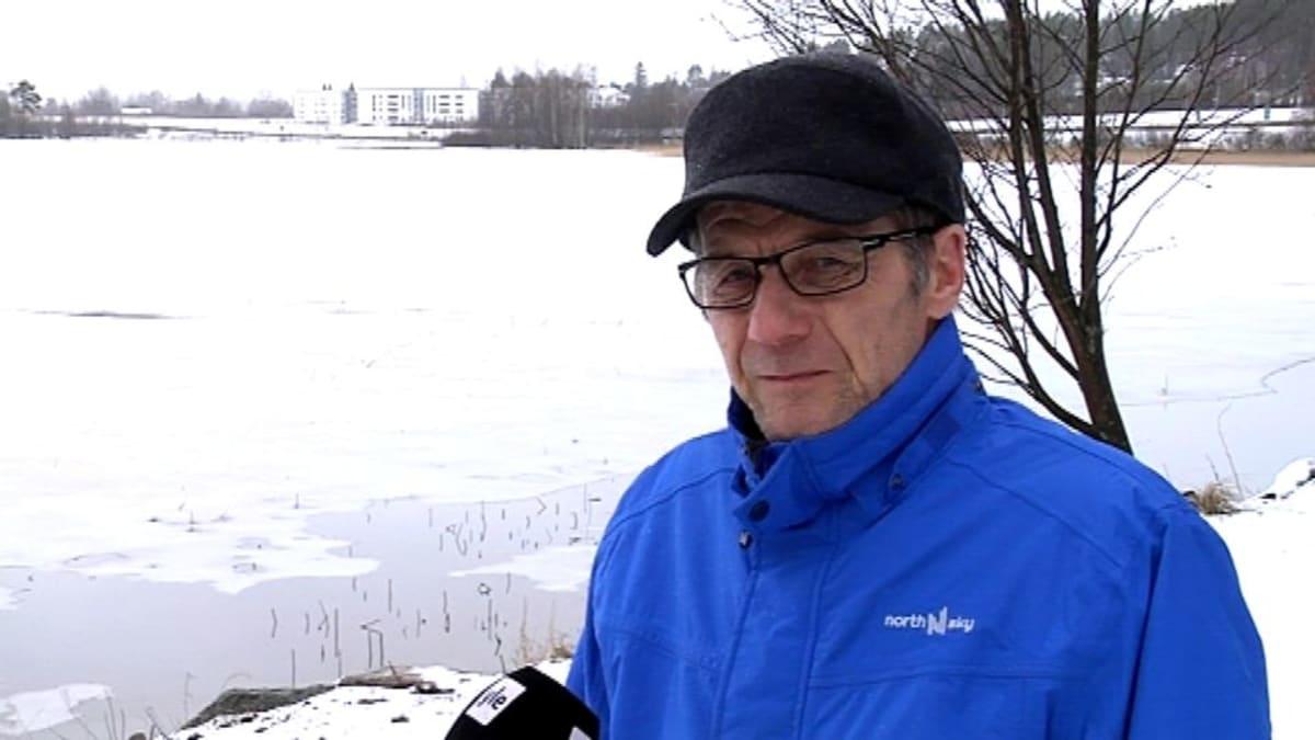 Palokan osakaskunnan puheenjohtaja Erkki Salmela.