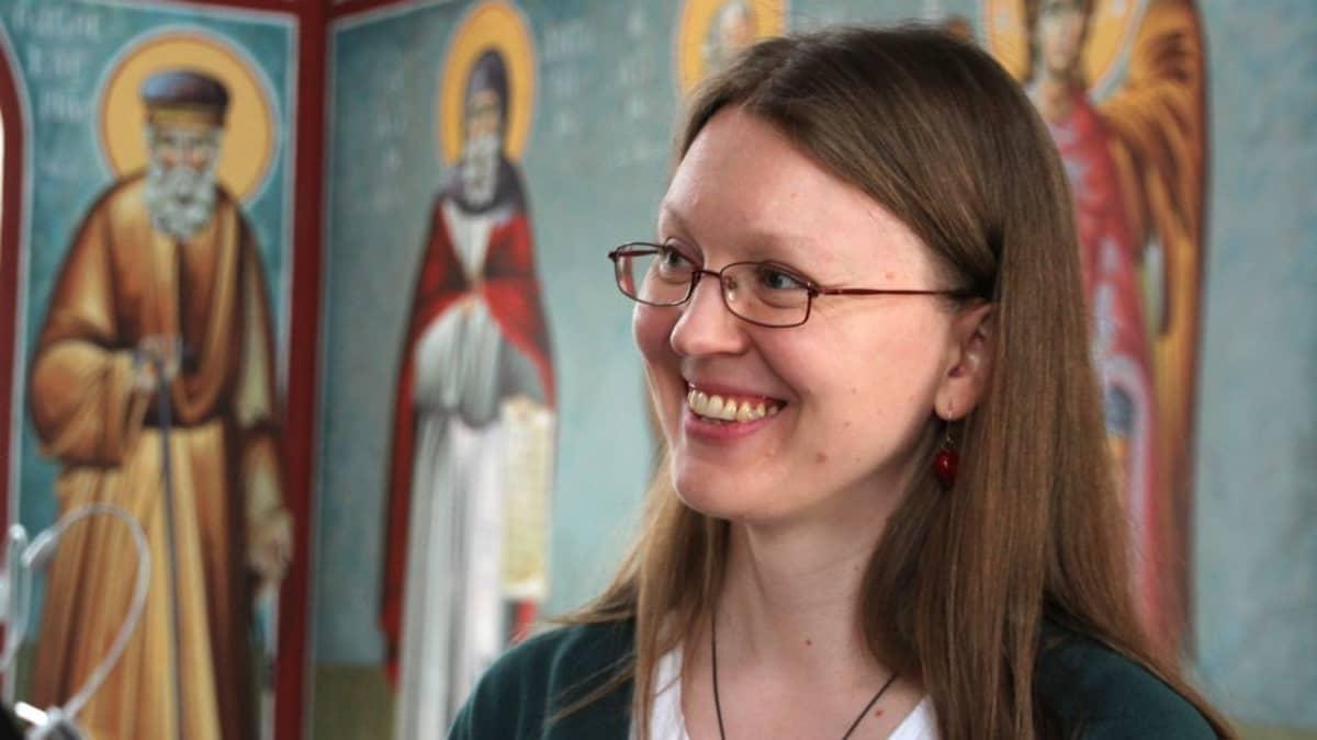 Maria Takala-Roszczenko kirkossa.