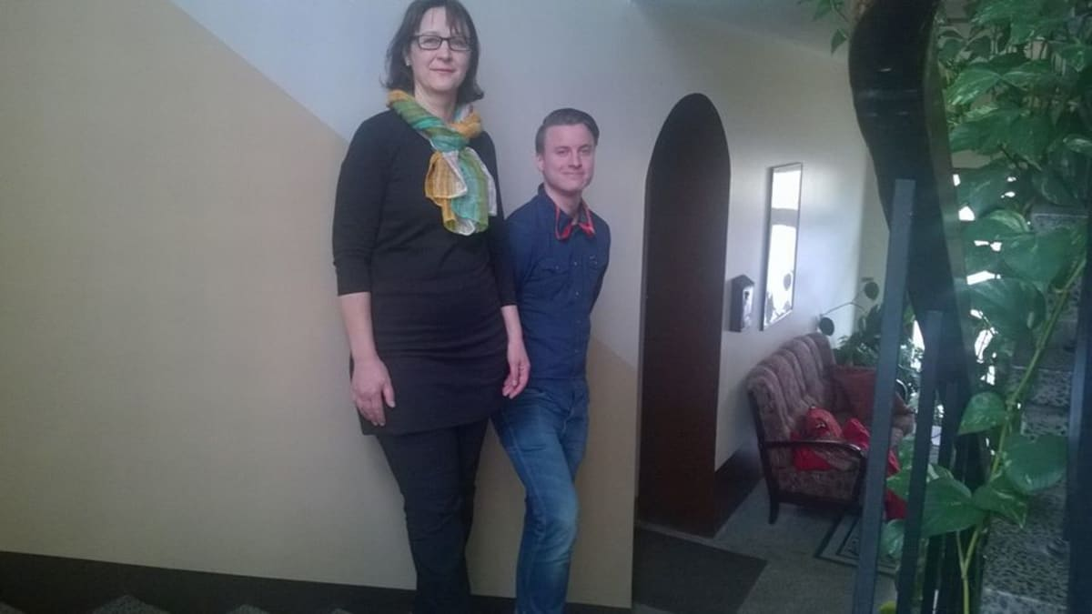 Eeva-Liisa Mäkelä ja Jaakko Mäkelä.